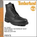 Timberland Timberland 6 inch basic waterproof boots 6 INCH BASIC BOOT WATERPROOF leather 2 wise men's 10069 black [genuine]