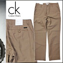 Shock price ★ points 10 times men's Calvin Klein Calvin Klein Chino pants chinos [Khaki] [regular]