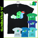 スロウバックス SLOWBUCKS short sleeve T shirt 6 color cotton men's tops T SHIRT TV