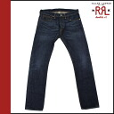 Double Aurel RRL Ralph Lauren vintage denim アンティークインディゴ cotton men's bottoms DENIM JEANS VINTAGE
