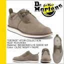 Dr. Martens Dr.Martens 2 Hall shoes olive night × taupe suede men's