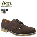 ジーエイチバス G... H... BASS Oxford プレイントゥー shoes BROCKTON D wise suede mens