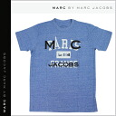 Shock price ★ point 10 times mark by MARC BY marc jacobs MARC BY MARC JACOBS short sleeves T-shirt TEE [Heather blue] CITY TEE PARI T-SHIRT T-shirt half sleeve men gap Dis unisex [regular]