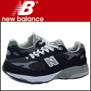 New balance new balance sneakers MR993BK Made in U.S.A EE wise suede men's