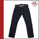 Double Aurel RRL Ralph Lauren vintage Denim Blue cotton mens bottoms DENIM JEANS BLUE COTTON vintage