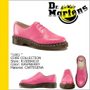 Dr. Martens 1461 3 Dr.Martens Hall shoes R10084610 CORE leather men women 3 EYE SHOE pink