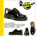 Dr. Martens Dr.Martens 1461 WOMENS 3 Hall shoes R10084001 MODERN CLASSICS patent leather women's mens 3 EYE SHOE enamel