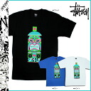 Stussy STUSSY short sleeve T shirt TEE collaboration limited cotton mens