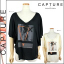 Capture CAPTURE by Hollywood Made Dolman C-SM12-1-06-WM INVERTED MOON cotton ladies