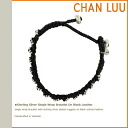 チャンルー CHAN LUU bracelet YBS-108 BLACK hand-made Leather Womens mens