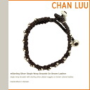 チャンルー CHAN LUU bracelet YBS-108 BROWN Handmade Leather Womens mens
