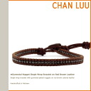Imported directly from the チャンルー CHAN LUU wrap bracelet BSM-2093 Leather Womens mens accessories NY