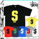 ステューシー STUSSY short sleeves T-shirt STUSSY S S Tee cotton men