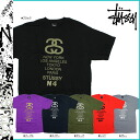 Stussy STUSSY short sleeve T shirt STUSSY S S Tee Link World Tribe cotton mens