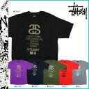 Stussy STUSSY short sleeve T shirt STUSSY S S Tee Link World Tribe cotton mens