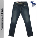 Abercrombie & Fitch &Fitch Abercrombie vintage denim [Indigo] 131-318-0163-029 SUPER SKINNY cotton men's [regular]