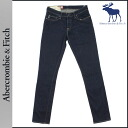 Abercrombie & Fitch Abercrombie &Fitch vintage denim 131-318-0164-028 SUPER SKINNY cotton mens