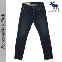 Abercrombie & Fitch Abercrombie &Fitch vintage denim 131-318-0165-027 SUPER SKINNY cotton mens