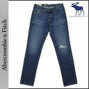 Abercrombie & Fitch Abercrombie &Fitch vintage denim 131-318-0214-022 SKINNY cotton mens