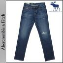 Abercrombie & Fitch Abercrombie &Fitch vintage denim 131-318-0214-022 SKINNY cotton mens