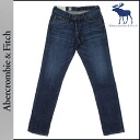 Abercrombie & Fitch Abercrombie &Fitch vintage denim 131-318-0225-024 SKINNY cotton mens