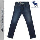 Abercrombie & Fitch Abercrombie &Fitch vintage denim 131-318-0228-023 cotton mens SUPER SKINNY