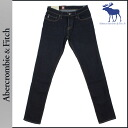 Abercrombie & Fitch Abercrombie &Fitch vintage denim 131-318-0257-029 SUPER SKINNY cotton mens