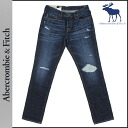 Abercrombie & Fitch &Fitch Abercrombie vintage denim [Indigo] 131-318-0282-019 SKINNY cotton men's [regular]