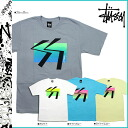 Stussy STUSSY short sleeve T shirt Surf Gradation cotton mens
