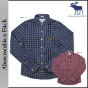 Abercrombie & Fitch Abercrombie &Fitch long sleeve button shirt with 125-135-0034-028 050 cotton mens vintage MUSCLE