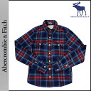 Abercrombie & Fitch Abercrombie &Fitch long sleeve button shirt with 125-168-0512-028 cotton mens vintage MUSCLE