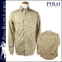 Polo Ralph Lauren POLO by RALPH LAUREN long sleeve button shirt with 7930111 ZRES Navajo pattern cotton mens
