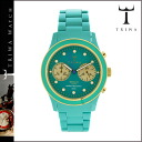 Tri TRIWA watches DCAC106 BEL AIR BRASCO CHRONO plastic men's women's turquoise WATCH