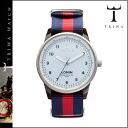 Tri TRIWA watches [KIND OF BLUE] LOAC103 KIND OF BLUE LOMIN nylon mens ladies Navy * red regular] unisex [regular]