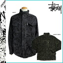 Stussy STUSSY zip up jacket 015784 cotton men's CAMO SYSTEM 65 JKT