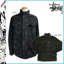 Stussy STUSSY zip up jacket 015784 cotton men's CAMO SYSTEM 65 JKT