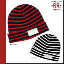Double Aurel RRL DOUBLE RL Ralph Lauren knit Cap 0159634 ICON SSNL Beanie cotton men's Womens red white