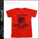 Cult of individuality Cult of individuality short sleeve t-shirt [Red] 632-T06A SANDS INDIAN cotton men's new [regular]