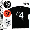 Stussy STUSSY short sleeve T shirt STUSSY TRIBE NO4 GLOBAL cotton men's 2013 new