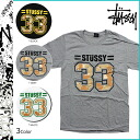 Stussy STUSSY t-shirt 3 color STUSSY SS 33 TEE HAVE A GOOD VIBE cotton men's new [regular]