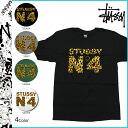 Stussy STUSSY short sleeve T shirt STUSSY SS CHEETAH NO4 cotton men's 2013 new