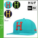 Hough HUF×NEW ERA Cap HUFHT3101C CLASSIC H NEW ERA collaboration with wool men's 2013 new