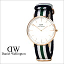 Daniel Wellington Daniel Wellington watch CLASSIC NOTTINGHAM WRIST WATCH watch watch nylon men's women's