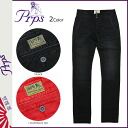 Shock price ★ points 10 times CHINO PANTS men's ピーアールピーエス PRPS color Chino pants Chino pants [Black] [regular]