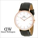 Daniel Wellington Daniel Wellington watch CLASSIC SHEFFIELD 40 mm leather band men's women's new WATCH watch quartz watch