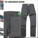 アンブランデッド THE UNBRANDED BRAND chinos CHINO PANTS NO WASHES TAPRED FIT tapered Chinese men's 2013 new