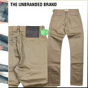 アンブランデッド THE UNBRANDED BRAND chinos CHINO PANTS NO WASHES TAPERED FIT tapered Chinese men's 2013 new