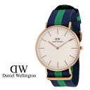 Daniel Wellington Daniel Wellington watch CLASSIC WARWICK 40 mm NATO strap mens Womens new WATCH watch quartz watch