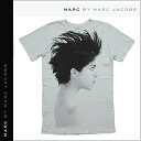 Mark by Mark Jacobs MARC BY MARC JACOBS short sleeve T shirt TEE in distressed gray T-SHIRT tee shirt mens [genuine]