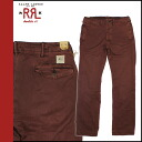 Double Aurel RRL DOUBLE RL Ralph Lauren Chino [Burgundy] Chino Chino pants men's [regular]